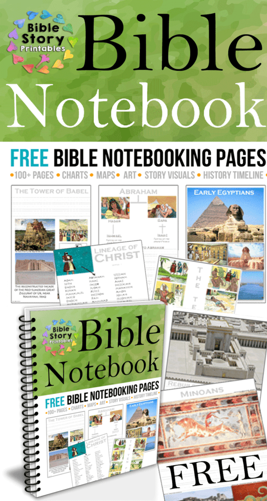 Free Bible History Notebooking Pages