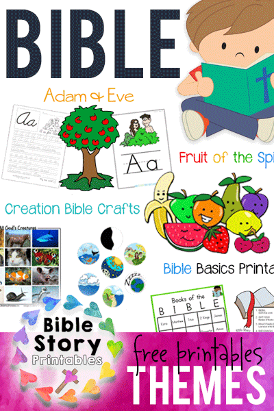 FREE Bible Crafts & Printables - Bible Story Printables