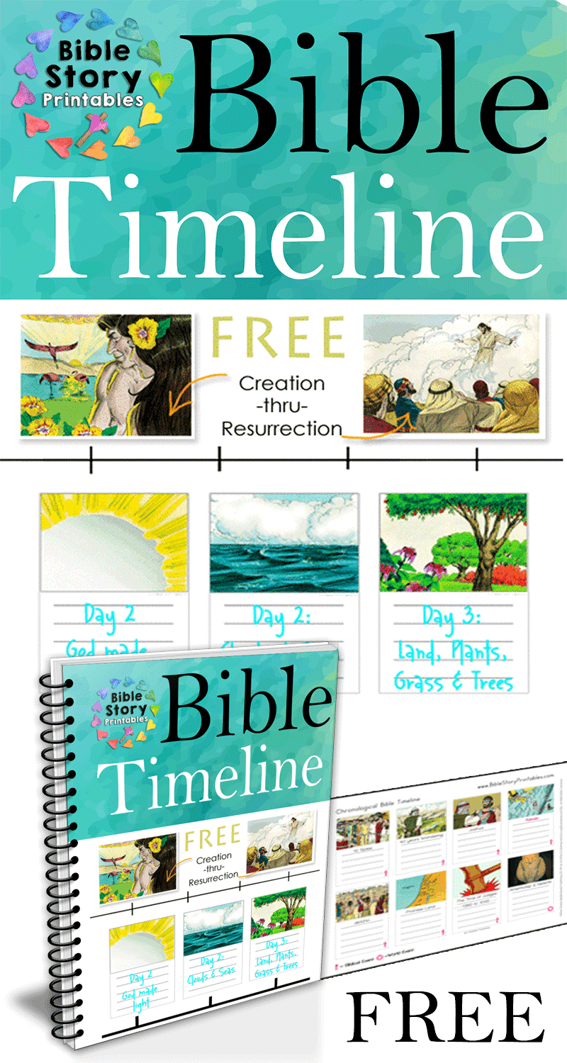 Free Printable Bible Timeline & 200 Cards