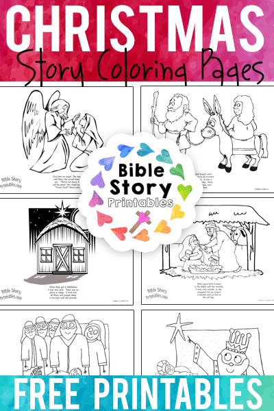 Big Book of Bible Story Coloring Pages for Elementary Kids ... | 600x400