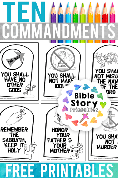 photograph regarding Free Printable Ten Commandments Coloring Pages named 10 Commandments Coloring Web pages