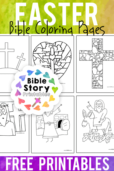 Easter Bible Coloring Pages - Bible Story Printables
