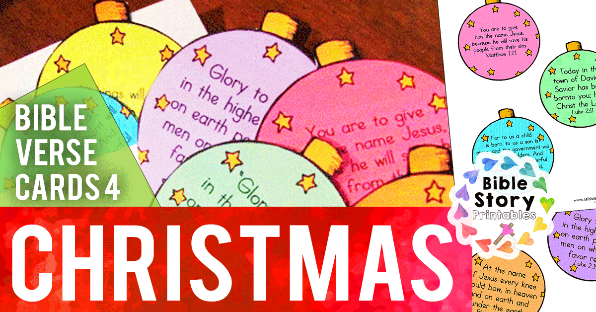 picture about Bible Verse Cards Printable known as Xmas Bible Verse Printables - Bible Tale Printables
