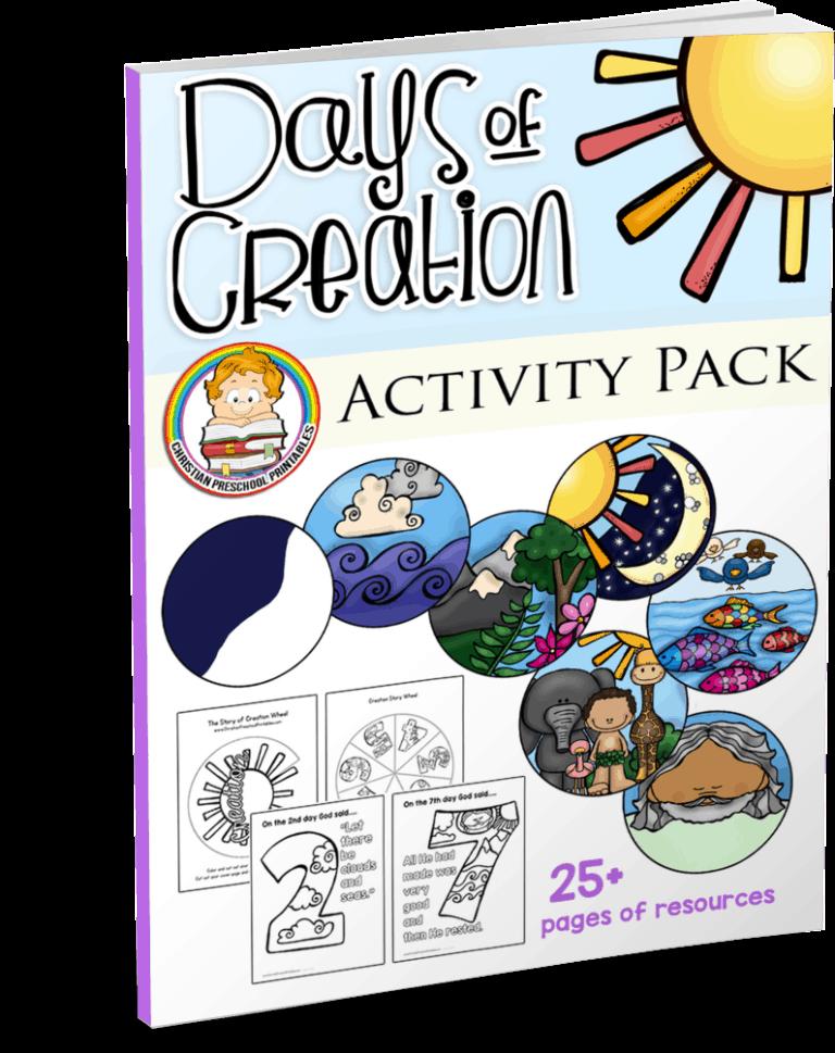 Creation Bible Printables - Bible Story Printables