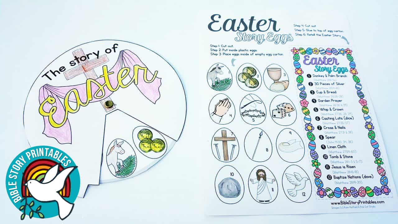 picture about Resurrection Egg Story Printable referred to as easter Archives - Bible Tale Printables