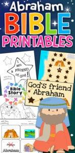 Abraham Bible Printables Bible Story Printables