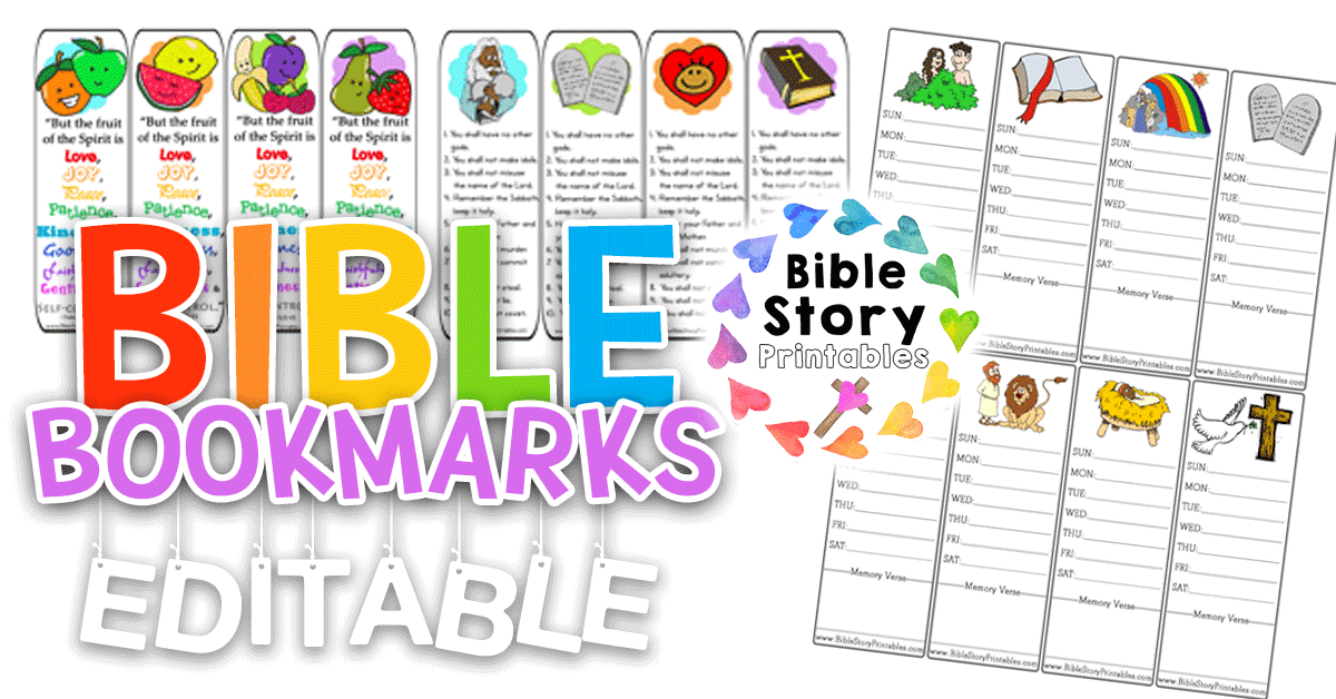 picture relating to Free Printable Bible Verse Bookmarks to Color called Bible Bookmarks - Bible Tale Printables