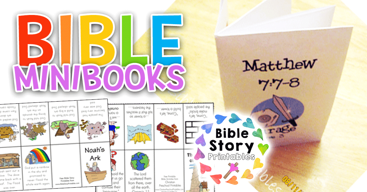 image relating to Printable Mini Booklets referred to as Free of charge Bible Minibooks