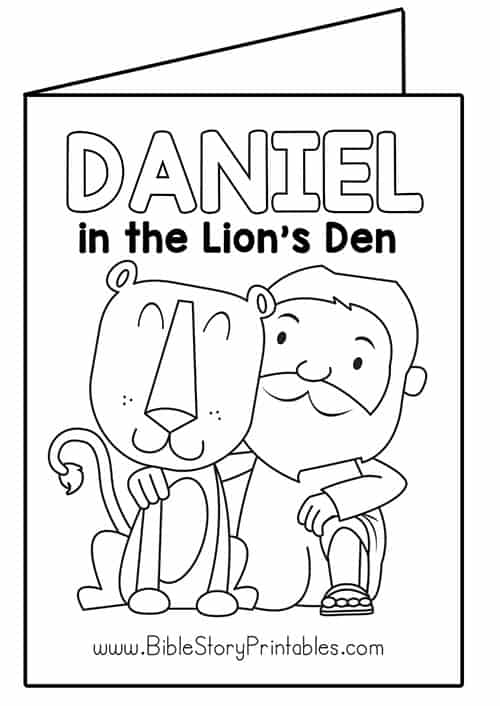 Daniel and the lions den coloring page | Bible - Coloring pages ... | 706x500