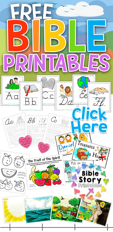 Free Printable Sunday School Resources