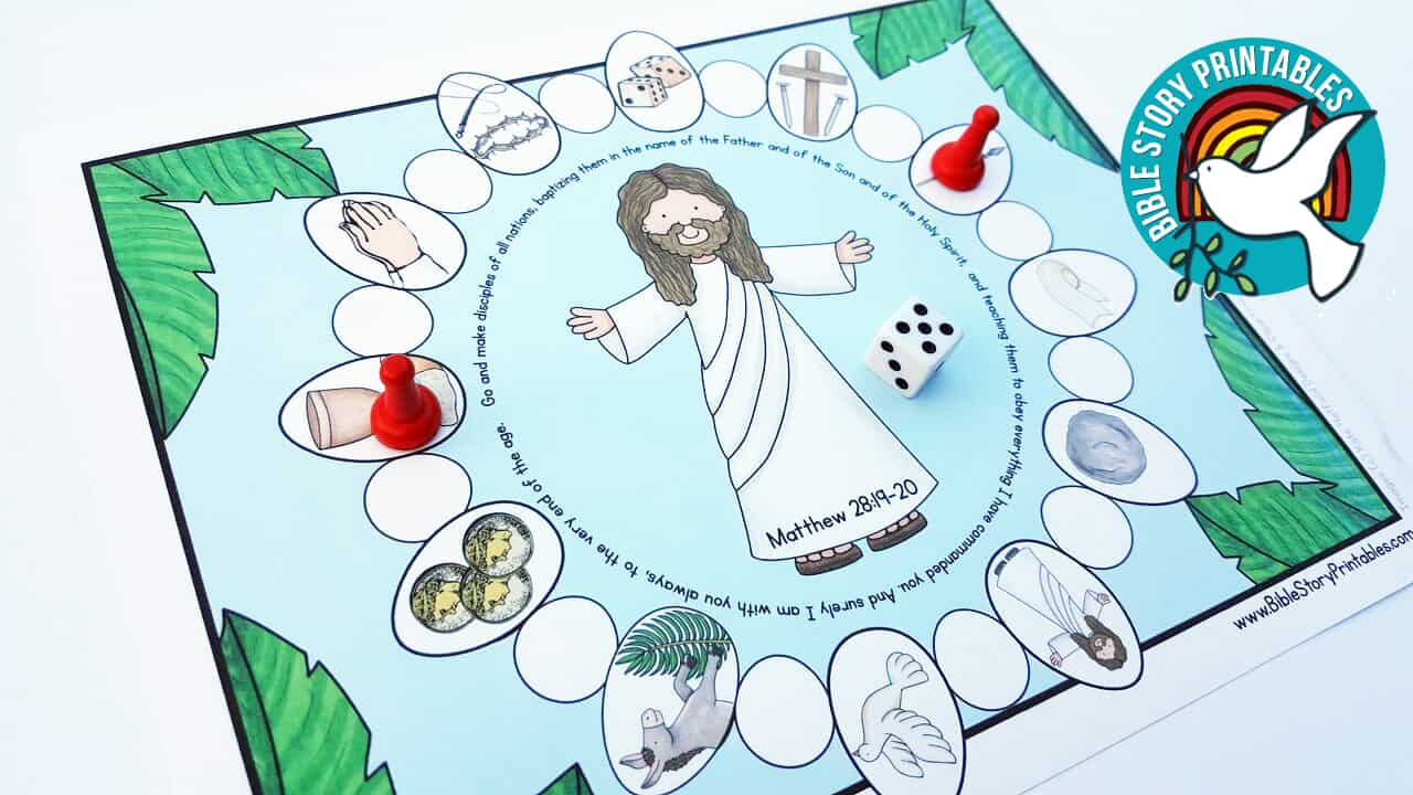 Easter Bible Printables - Bible Story Printables