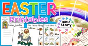 EasterBiblePrintablesKids