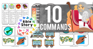 TenCommandmentBiblePrintables